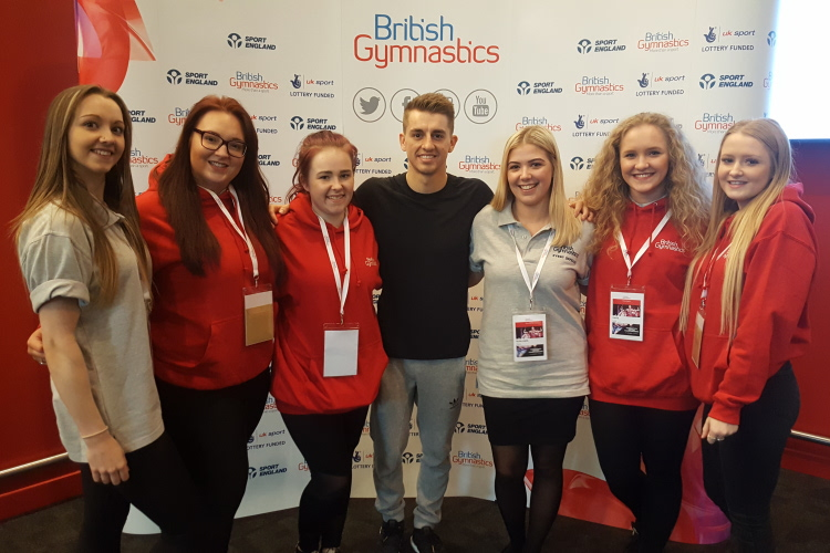 Outstanding volunteers make 2017 Gymnastics British Championships a success