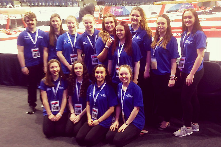 Event volunteers shine at British Championships