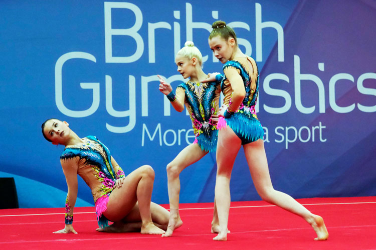 Gymnasts selected to represent GB at the Acrobatic World and World Age Group Championships