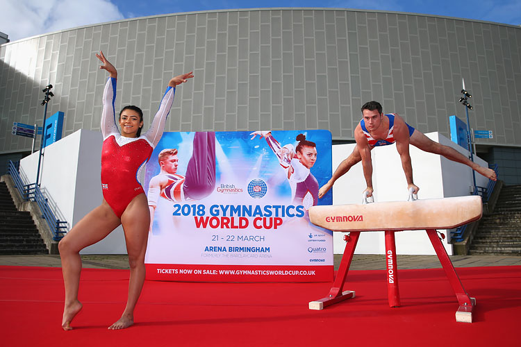 GB stars urge fans to cheer British gymnasts to World Cup glory