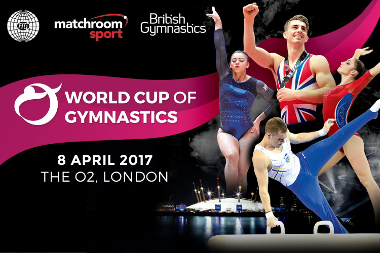 World Cup of Gymnastics heading to the O2