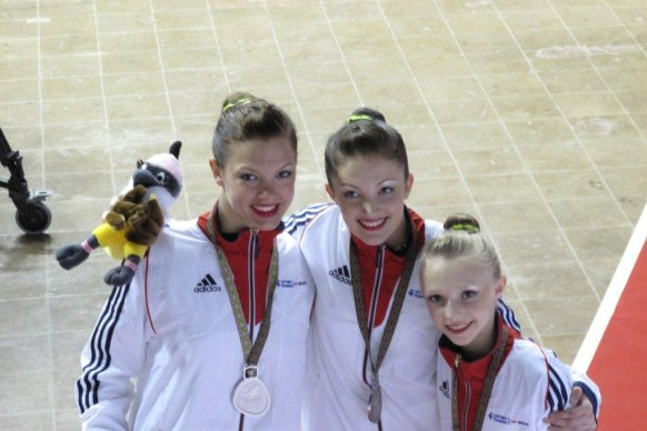 Four more medals for GBR at World Games